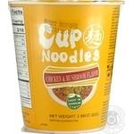 Суп рамен Cup Noodles курица и грибы 82г