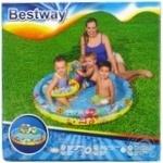 Набір:басейн надувний+коло+м'яч 122*20см 137л - купить, цены на Novus - фото 1