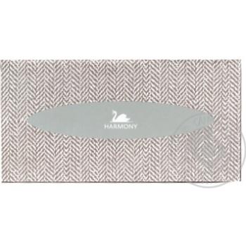 Салфетки Harmony косметические двухслойные 150шт - купить, цены на МегаМаркет - фото 1