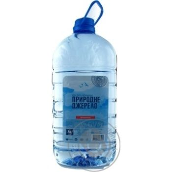 Water Pryrodne dzherelo non-carbonated 6000ml plastic bottle