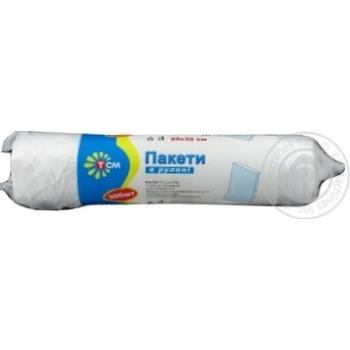 Пакети в рулоні 25*32 300шт ТСМ Premium - купить, цены на МегаМаркет - фото 3