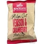 Чипсы Mackie's Venison & Cranberry картофельные 150г