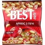 Арахис Best nuts жареный соленый со вкусом бекона 30г