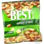 Арахис Best nuts жареный соленый со вкусом сыра 30г