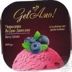 Мороженое Gel'Amo Ягодное Джелато 600г