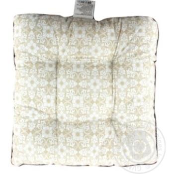 Подушка для стільця 40х40см - купити, ціни на МегаМаркет - фото 1