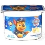 Йогурт Danone Paw Patrol Банан-печенье 2% 115г
