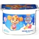 Йогурт Danone Paw Patrol персик-малина 2% 115г