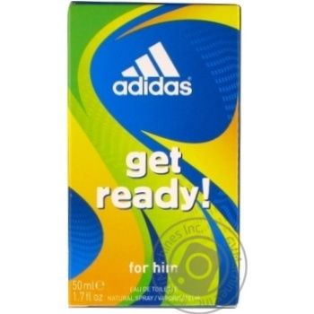 Eau de toilette Adidas Get ready for man 50ml