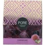 Конфеты Pure Chocolate начинк вкус чизкейка м/ш 96г