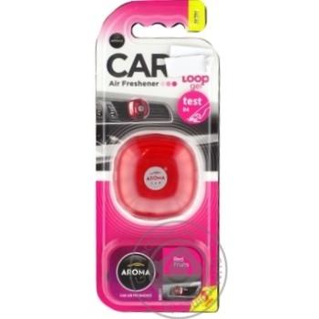 Aroma Car Loop gel Car air freshener Frut - buy, prices for MegaMarket - image 1