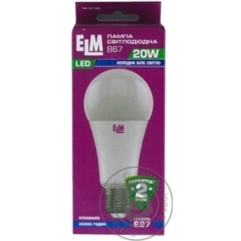 Лампа ELM Led B67 20W PA10L E27 4000 18-0136 - купити, ціни на МегаМаркет - фото 2