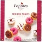 Пончики Poppies трио мини 250г