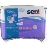 Прокладки урологические Seni Lady Extra Plus 15шт