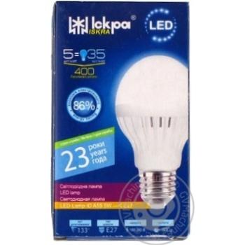 Лампа LED LampID Іскра A55 220В 5Вт 4000K E27