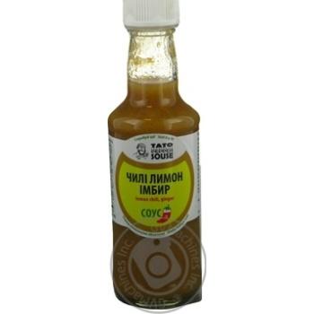 Соус чилі лимон імбир TatoPepperJam 210гр пляшка