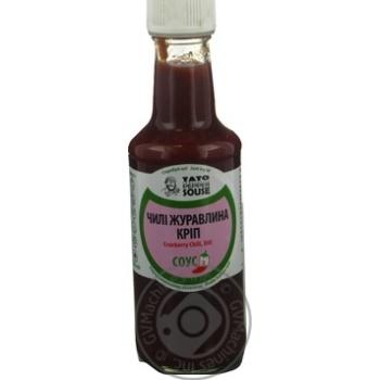 Соус чилі журавлина кріп TatoPepperJam 210гр пляшка