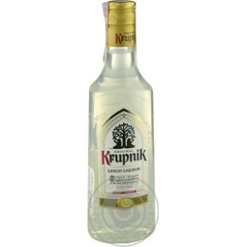 Ликер Krupnik Lemon 32% 0.5л