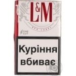 Сигареты L&M Red Label 20шт