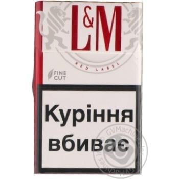 Сигареты L&M Red Label 20шт