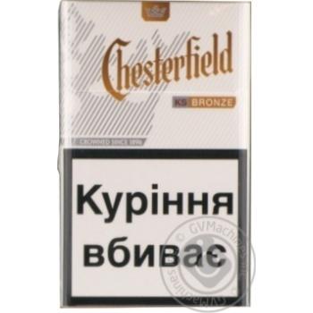 Сигареты Chesterfield Bronze