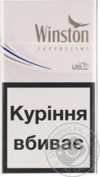 Сигареты Winston Silver Super slim - купить, цены на Фуршет - фото 6