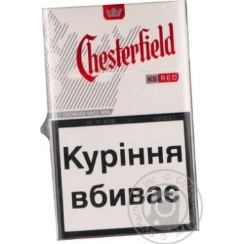 Честерфилд ред сигареты купить в экспертиза качества табачных изделий