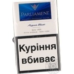 Цигарки Parliament Aqua Blue