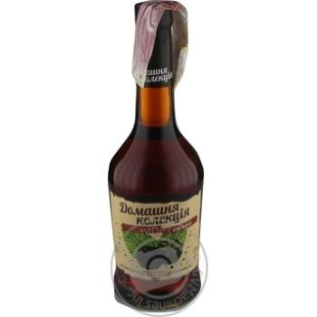 Home Collection Blackberries strong sweet pink fermented beverage 12% 0,5l