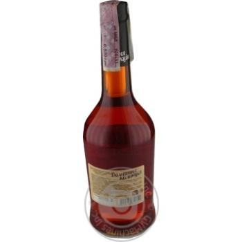 Напиток сброженный Домашня Колекция Клюква крепкий сладкий розовый 12% 0,5л - купить, цены на Novus - фото 2