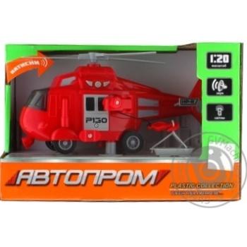 Игрушка Автопром Вертолет - купить, цены на Novus - фото 1