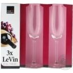 Келих для шампанського Le Vin Rоyal Leerdam 210 мл 3 шт