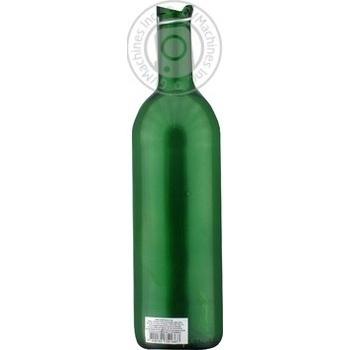 Пляшка скляна з буг. замком 0,75л зелена х6 - купить, цены на МегаМаркет - фото 2