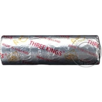 Уголь для кальяна Threе Kings 40мм 10шт - купить, цены на МегаМаркет - фото 1
