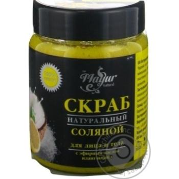 Mayur Salt Scrub Ylang-ylang and Lemon 250ml - buy, prices for Novus - image 2