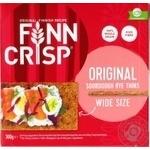 Хлебцы Finn Crisp ржаные цельнозерновые оригинальные 300г