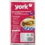 Пакеты для завтраков York бумажные 22x12,5 50шт/уп