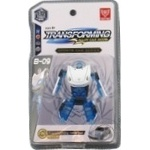 Tomytaku Transformer Toy white