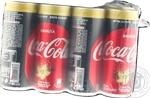 Напій Coca-Cola Zero Ваніла сильногазований 0,33л