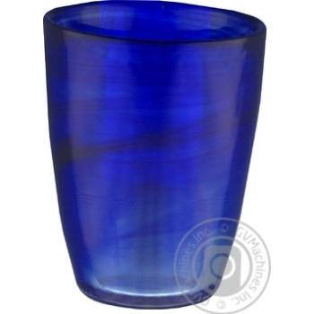 Скидка на Стакан Atlas Алебастр синий 8Х11см