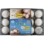Яйця курячі харчові столові С1 Це-яйце 15 шт/уп