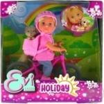 Лялька Evi Love Holiday На велосипеді з улюбленцем для дітей від 3 років