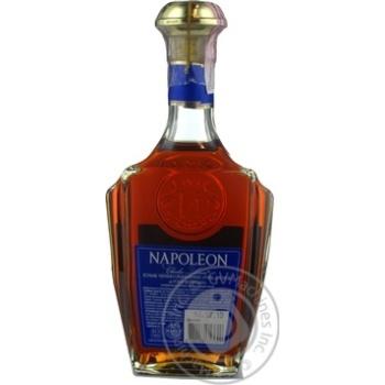 Коньяк Napoleon 6 лет 5 звезд 40% 0,5л - купить, цены на Novus - фото 2