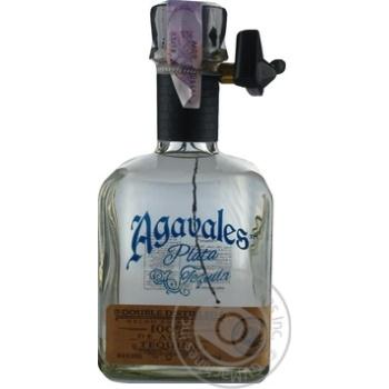 Текила Agavales Plata 40% 0,75л - купить, цены на МегаМаркет - фото 1