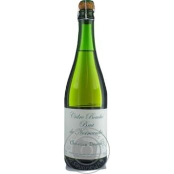 Christian Drouin Bouche de Normandie Brut Cidre 4.5% 0.75l - buy, prices for CityMarket - photo 1
