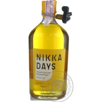 Віскі Nikka Days 40% 0,7л - купити, ціни на МегаМаркет - фото 1