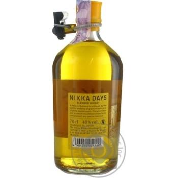 Віскі Nikka Days 40% 0,7л - купити, ціни на МегаМаркет - фото 2