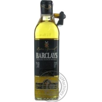 Віскі Barclays Extra Special 3 роки 40% 0,5л - купити, ціни на МегаМаркет - фото 1