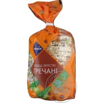 Crispbread Premiya buckwheat 100g