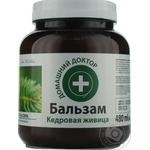 Бальзам Домашній доктор з кедровими горіхами для волосся 480мл Україна